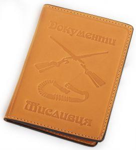 Обложка для документов охотника арт.5151