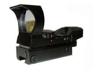 Прицел коллиматорный 1х22х33 HD106 крепление узкое 11мм(4 маркера)