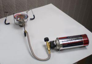 Портативная печь для кемпинга HM 166- L5 со шлангом.