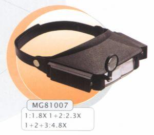 Лупа налобная MG81007
